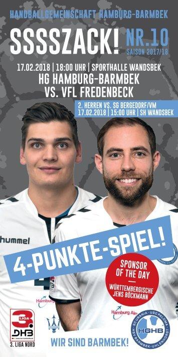 SSSSZSACK! HGHB vs. VfL Fredenbeck