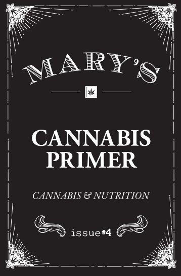 Issue #4: Cannabis and Nutrition