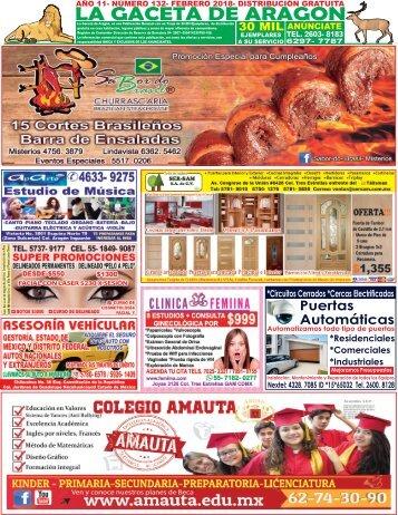 Gaceta de Aragon Febrero 2018