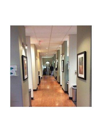 Hallway at Huckabee Dental Southlake, TX 76092