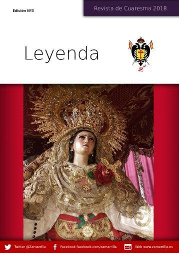 Leyenda - Revista de Cuaresma 2018