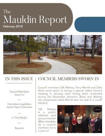 February 2018 Mauldin Report