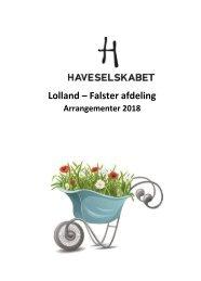 Årsprogram 2018