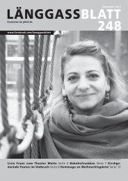 Länggassblatt 248 - Dezember 2017