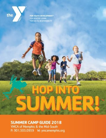 YMCA Summer Camp Guide 2018