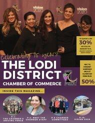 Lodi Chamber Magazine Prototype