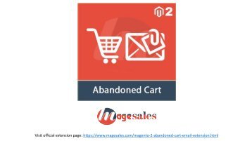 Magento 2 Abandoned Cart Emails