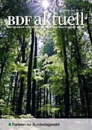 Parteien zur Bundestagswahl - BDF
