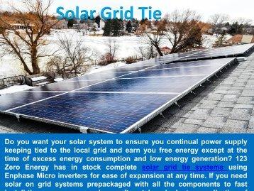Solar Grid Tie