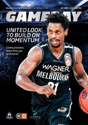 Game day program Round 18 Wildcats