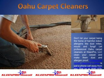 Oahu Carpet Cleaners