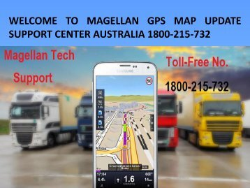 Magellan  Technical Support Number Australia 1800-215-732