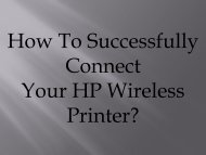 How To Troubleshoot common HP wireless printer connectivity issues?
