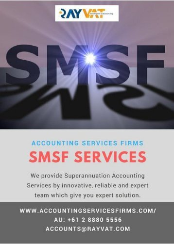 Outsource SMSF Services