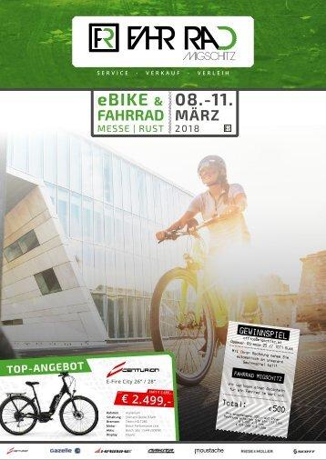 Fahrrad Migschitz Broschüre 2018