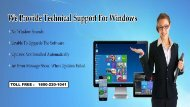 Windows Technical Support Number 18002201041