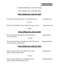 CAUVERY ISSUE - SUPREME COURT JURISDICTION 16-Feb-2018