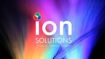 Ion Presentation Q1 2018 Rev1