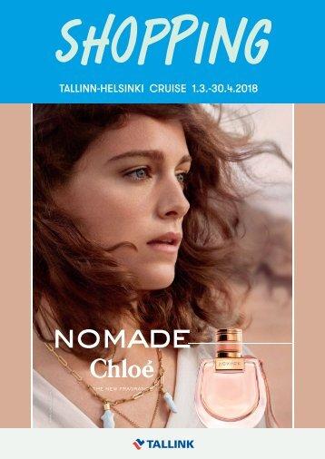 Tallinn-Helsinki Cruise March-April 2018 Spring Shopping catalogue light