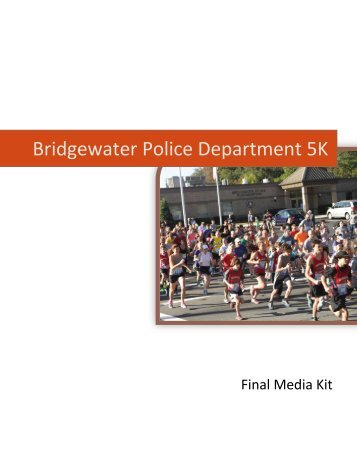 Bridgewater Police Dept 5K