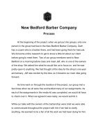 New Bedford Barber Company - Page 5