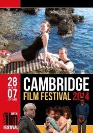 2014 Cambridge Film Festival Brochure