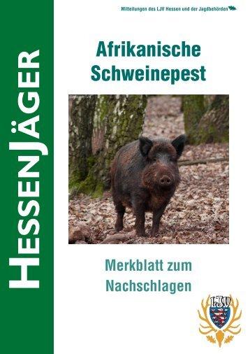 HessenJäger Merkblatt ASP