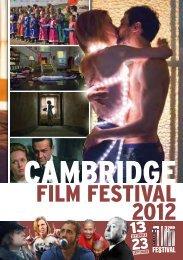 2012 Cambridge Film Festival Brochure