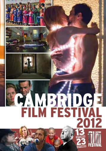 2012 Cambridge Film Festival Brochure