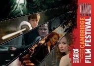 2011 Cambridge Film Festival Brochure