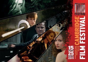 2011 Cambridge Film Festival Brochure