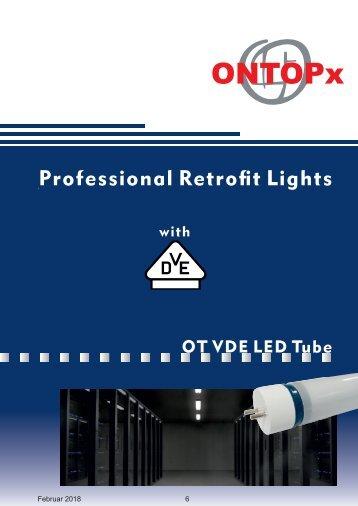 ONTOPx 230 Volt LED Tube VDE