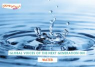 Global Voices Of The Next Generation On: Water