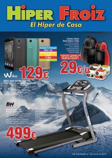 Hiper Froiz ofertas hasta 7 de marzo 2018