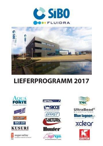 SIBO Fluidra Produktkatalog 2017