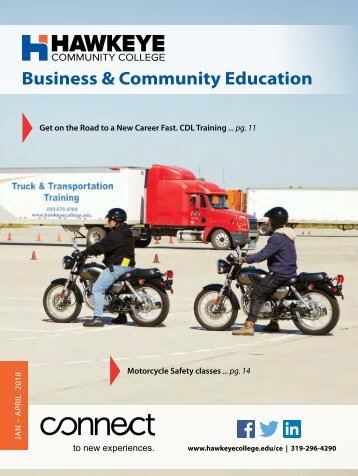 Hawkeye Business & Community Education Spring Catalog