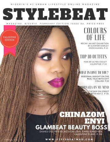 STYLEBEAT MAGAZINE NIGERIA FEBRUARY EDITION