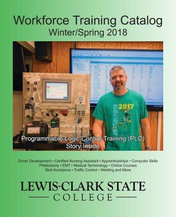 LCSC Workforce Training-Spring 2018
