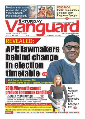 17022018 - REVEALED: APC lawmakers behind change in election time table