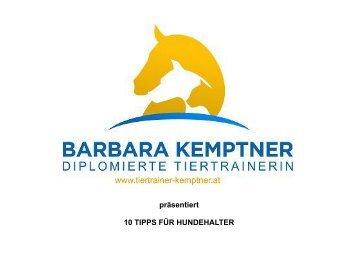 10 TIPPS FÜR HUNDEHALTER
