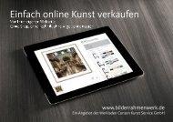 Einfach online Kunst verkaufen - Anleitung