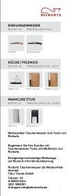 Werbeartikel Taschenmesser Richartz Tools Katalog - Seite 3