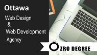 ZroDegree - Custom Web Design & Development, Digital Marketing Agency in Ottawa