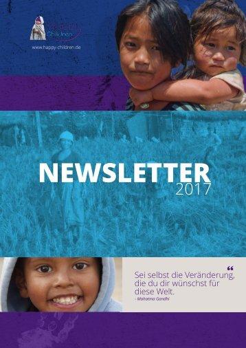 Newsletter Happy Children 2017