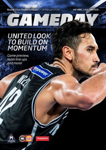 Game day program Round 18 Hawks