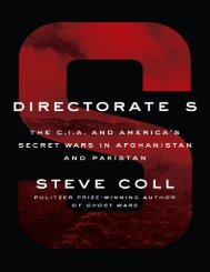 Steve-Coll-Directorate-S_-The-C.I.A.-and-Americas-Secret-Wars-in-Afghanistan-and-Pakistan-Penguin-Press-2018