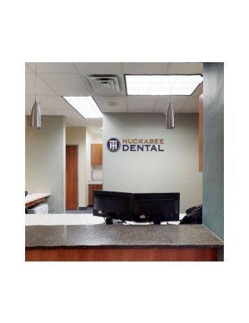 Reception area at Huckabee Dental Southlake, TX 76092