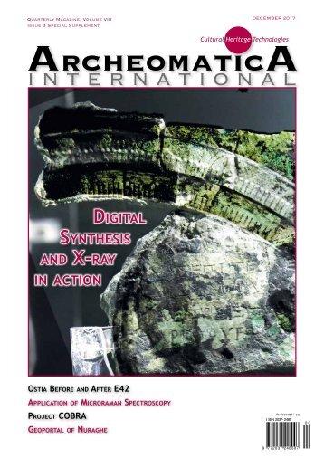 Archeomatica International 2017