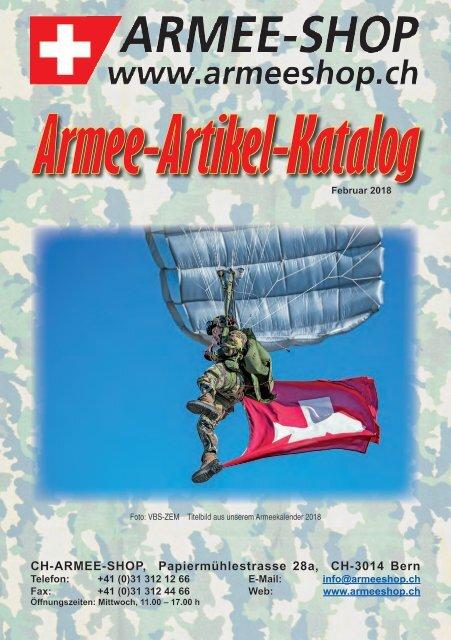 CH-ARMEE-SHOP - Katalog 2018