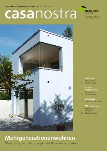 casanostra 124 - April 2014